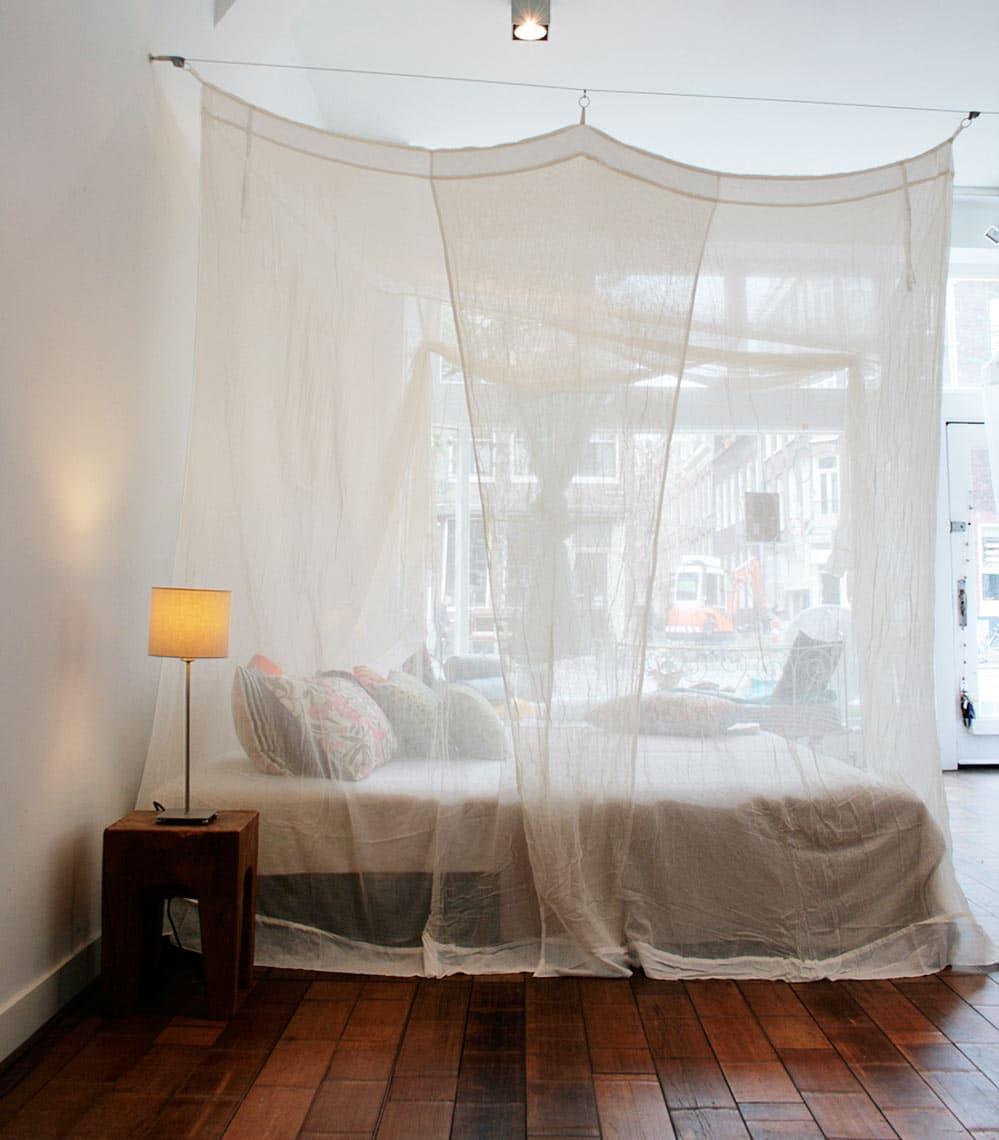 la moustiquaire : un répulsif naturel pour les moustiques