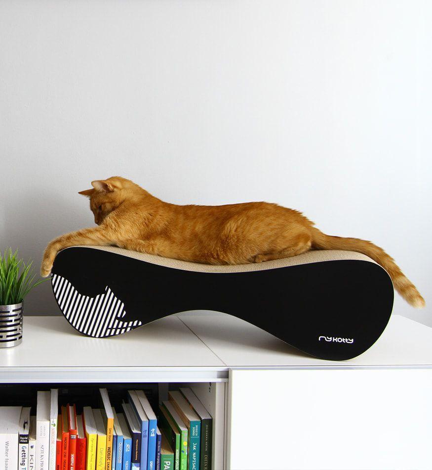 Griffoir Chat Carton Design un griffoir ecologique et design pour mon chat - feerie-green