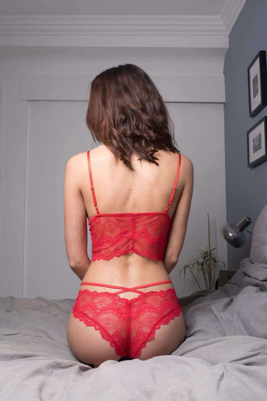 pop'line - ensemble Ines rouge