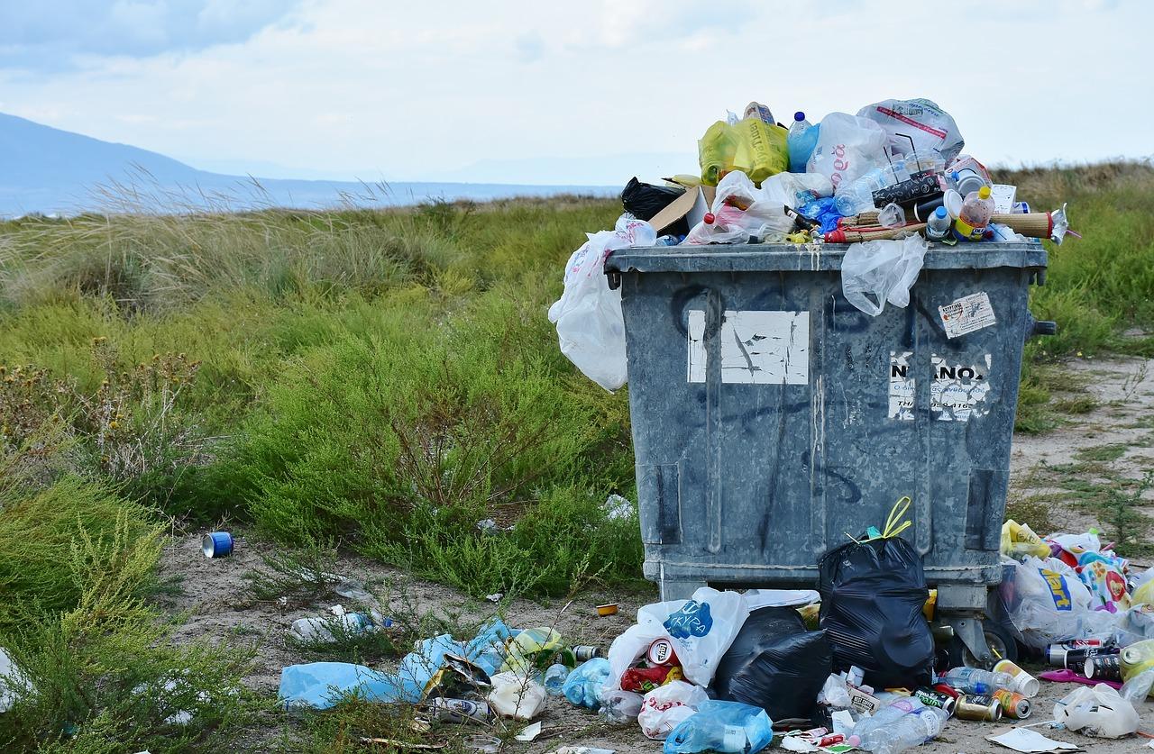 zero dechet poubelles