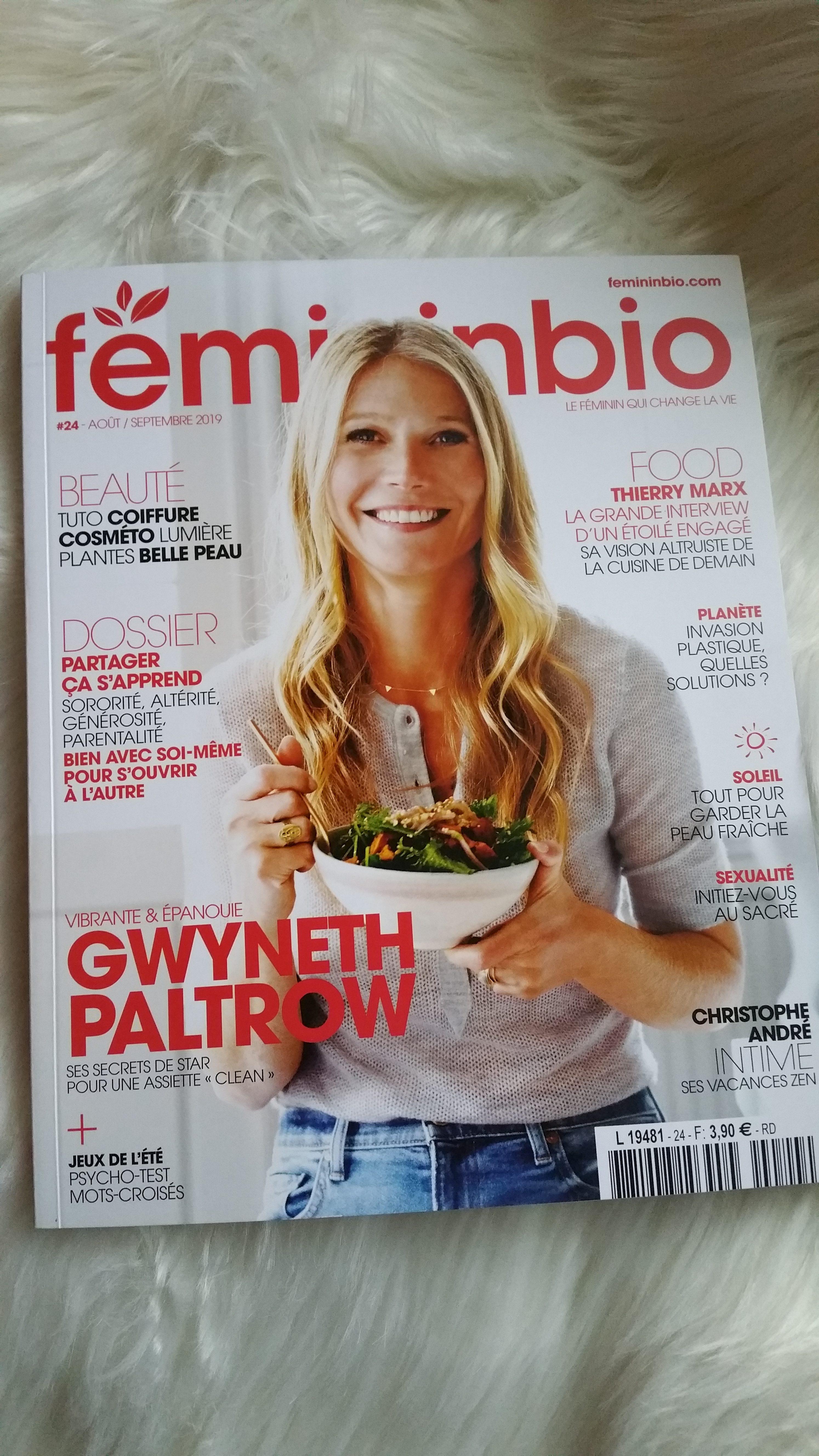 magazine écologique : feminin bio