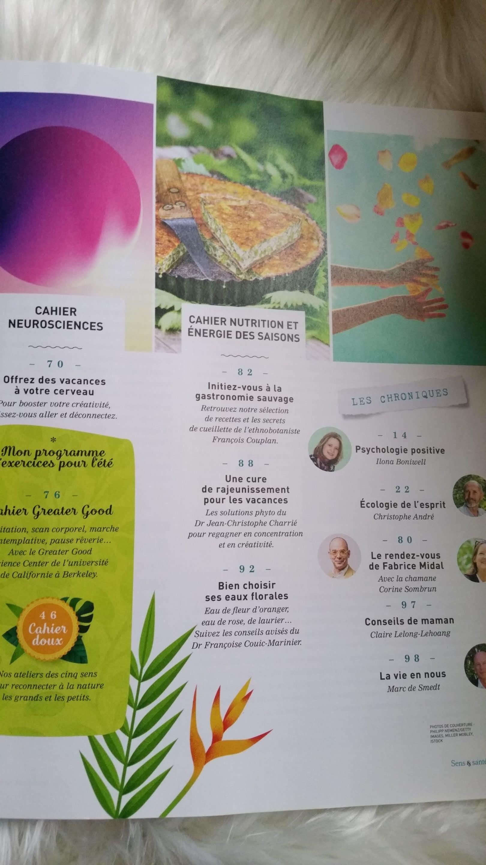 revue le monde sens et santé sommaire 2