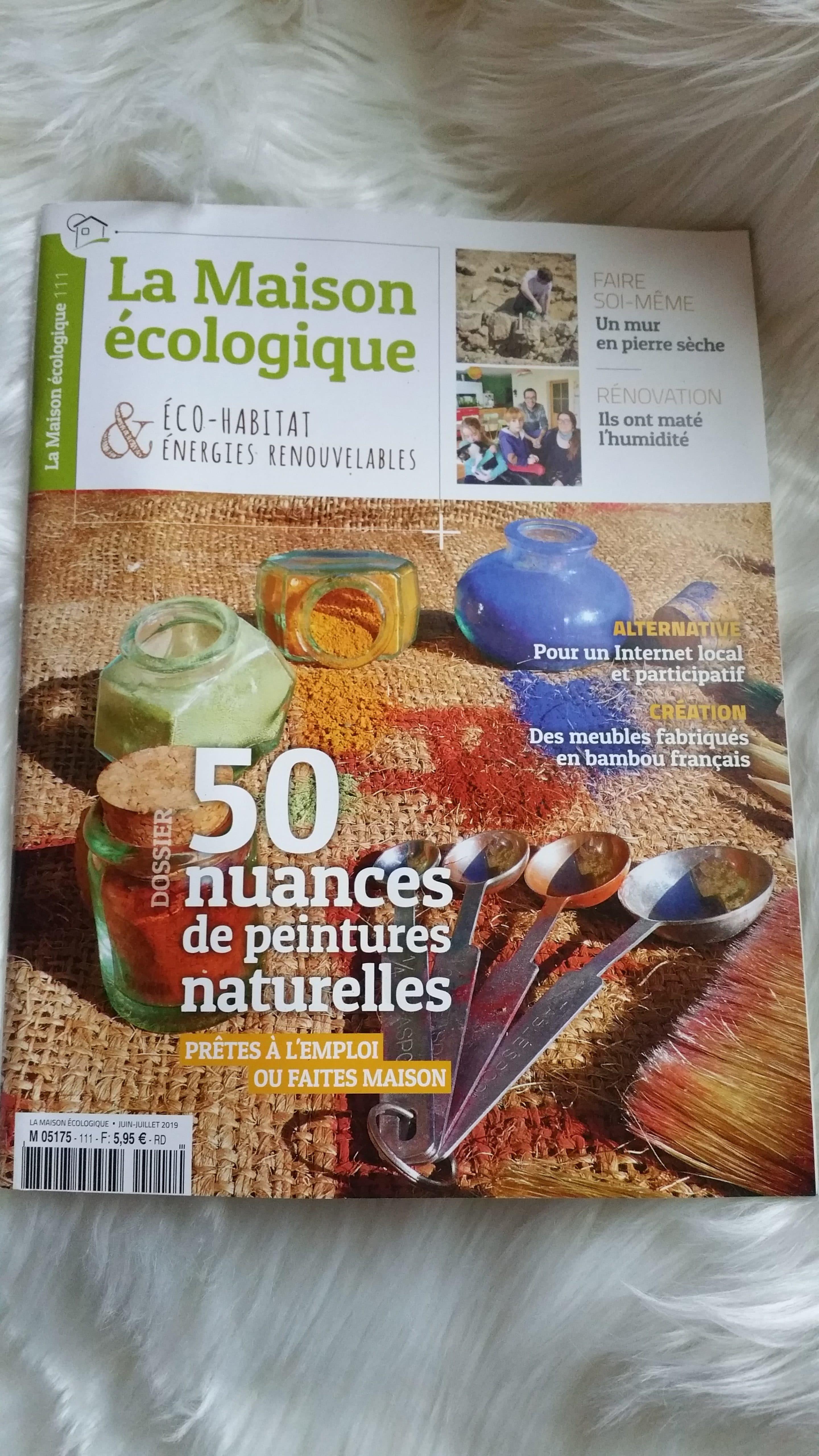 magazine écologique : la maison ecologique