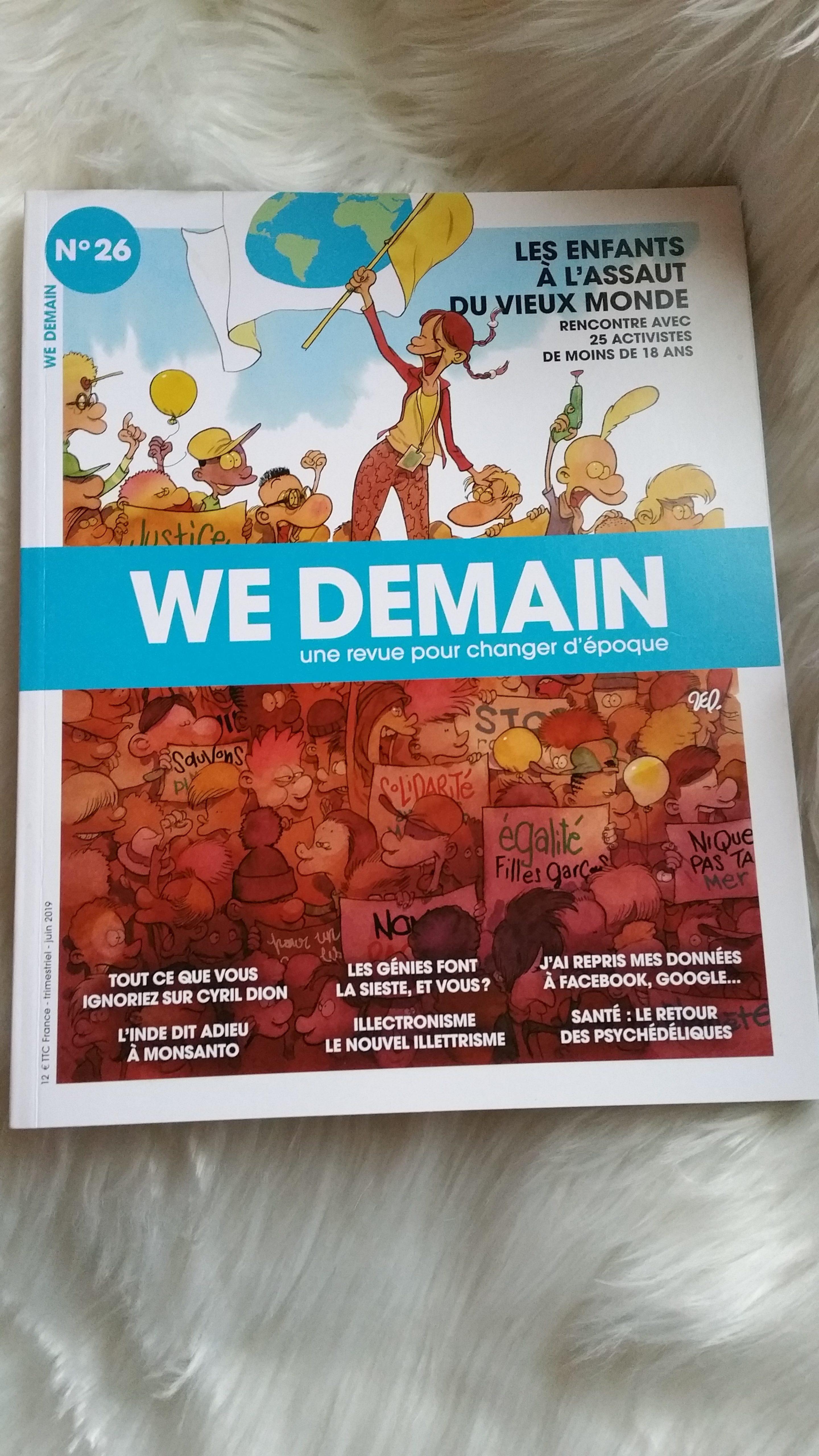 magazine écologique : we demain