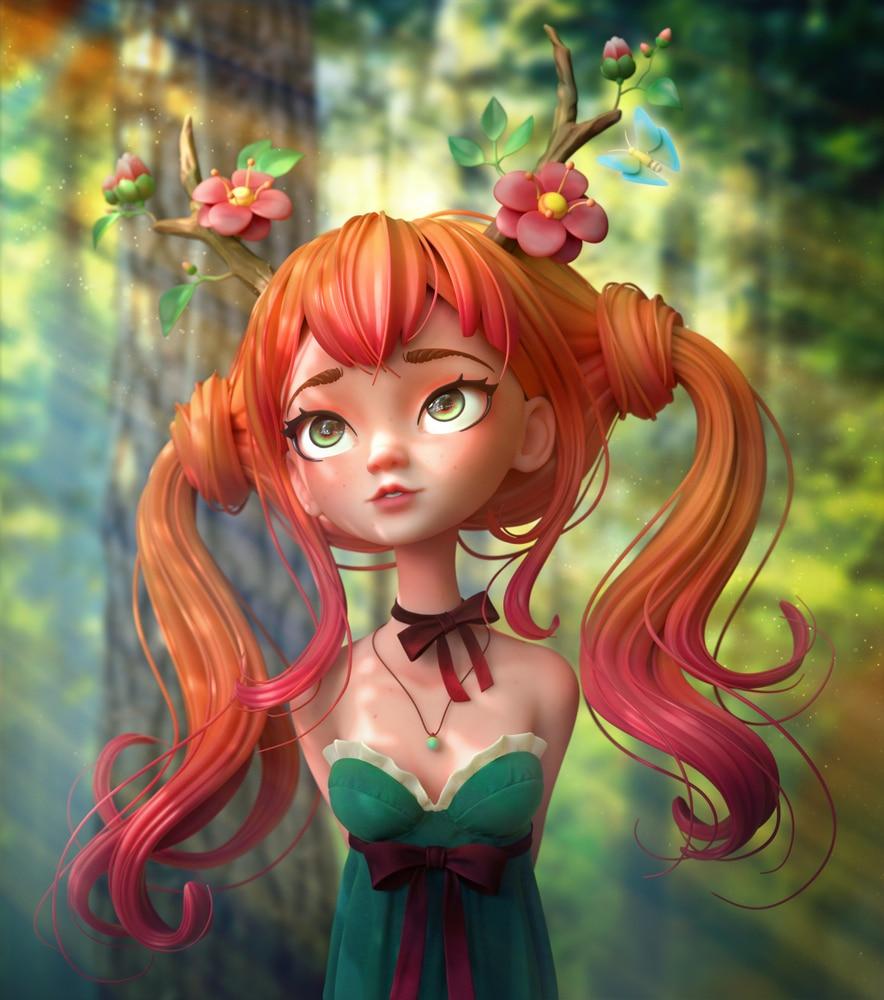 petite fée - feerie-green