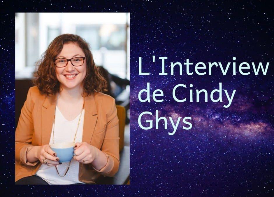 Interview de Cindy Ghys