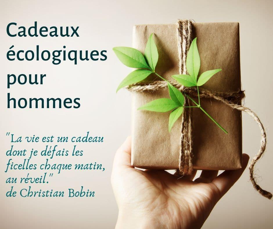 Cadeaux écologiques pour hommes