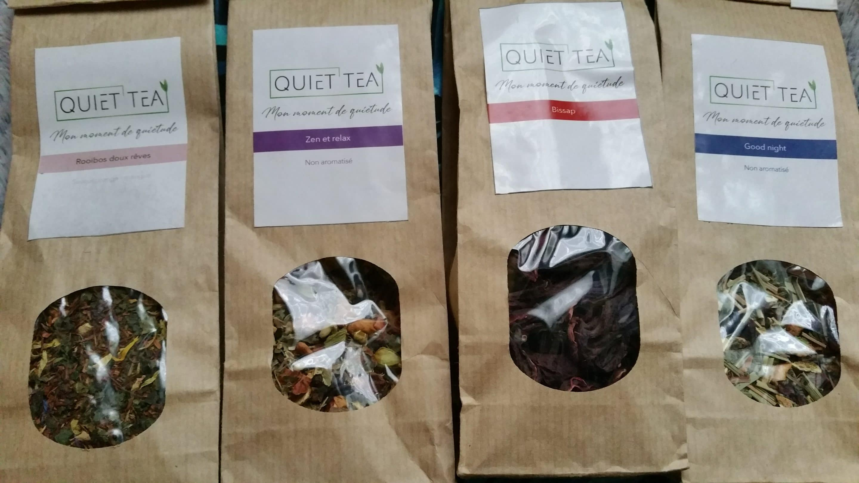 infusions QUIET TEA