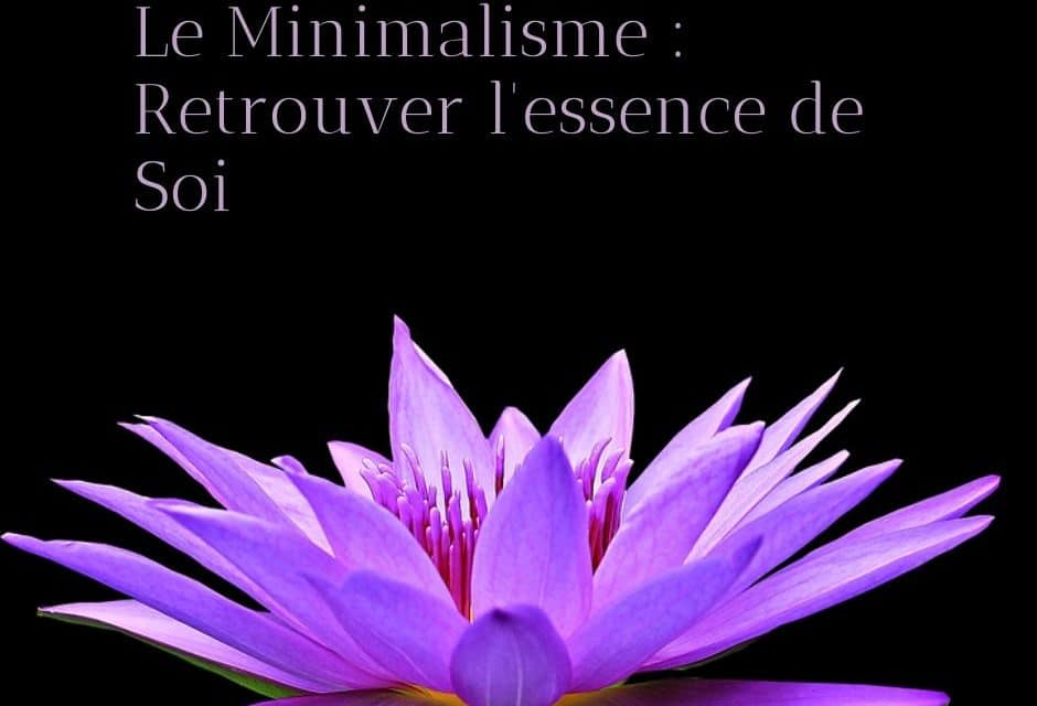 Le Minimalisme : Retrouver l'essence de Soi