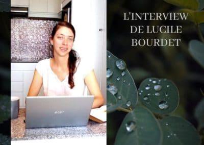 Interview de Lucile Bourdet