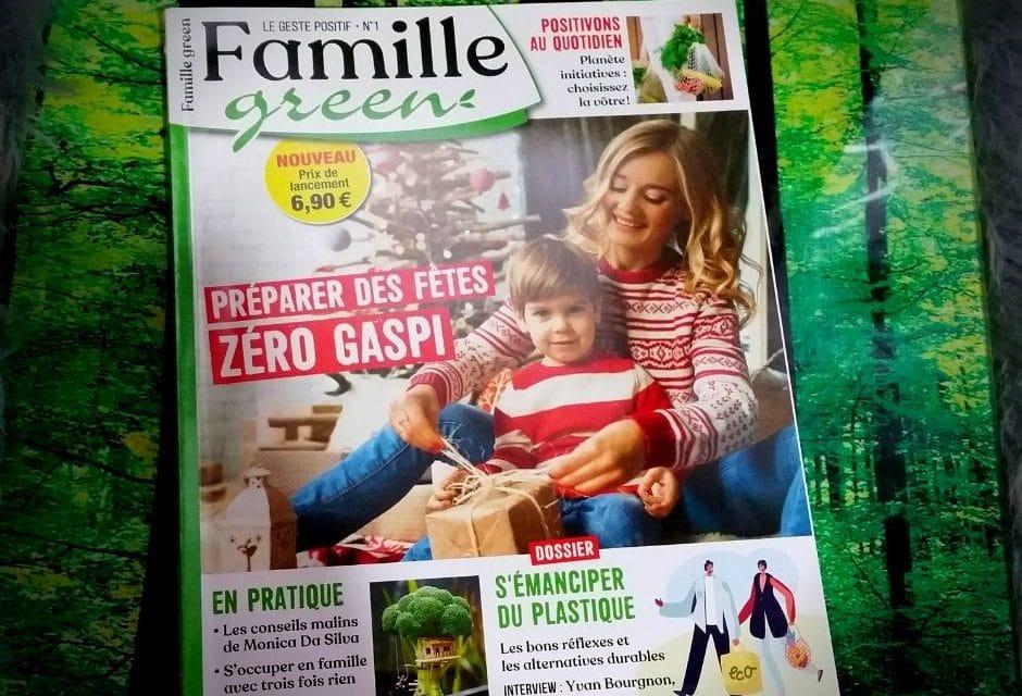 FAMILLE GREEN – Un nouveau magazine écologique