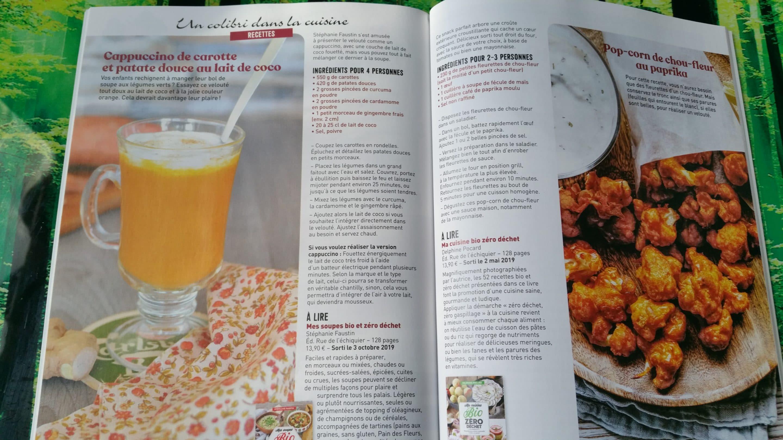 magazine famille green coté cuisine