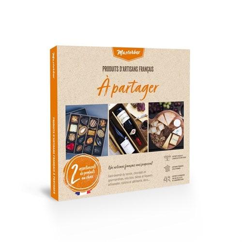 COFFRET CADEAU COUPLE - 2 BOX À CHOISIR