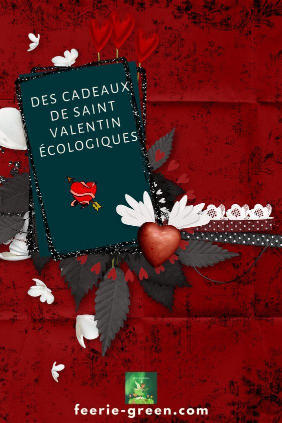 Cadeaux de Saint Valentin écologiques - pinterest