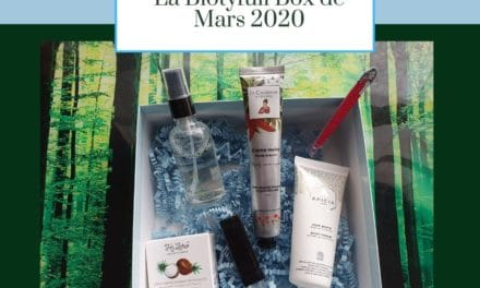 La Biotyfull Box de Mars 2020