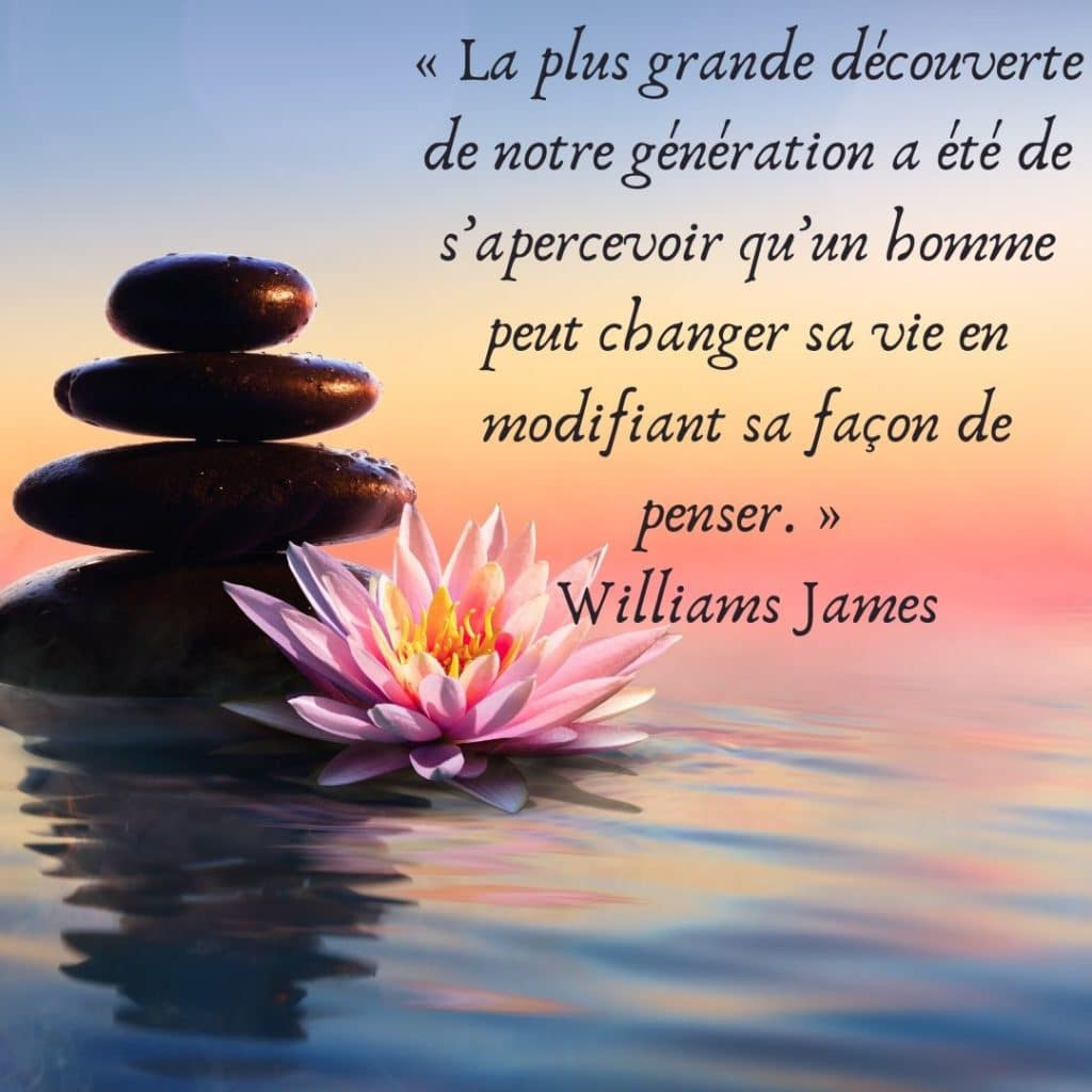 citation de Williams James