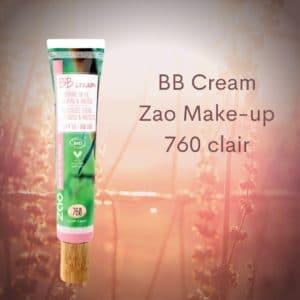 BB Cream Zao Make-up 760 clair -