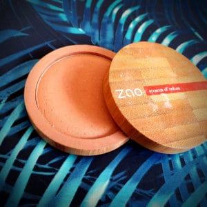 La terre cuite minérale Zao Make-up 347 éclat naturel