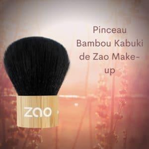 Pinceau Bambou Kabuki de Zao Make-up -
