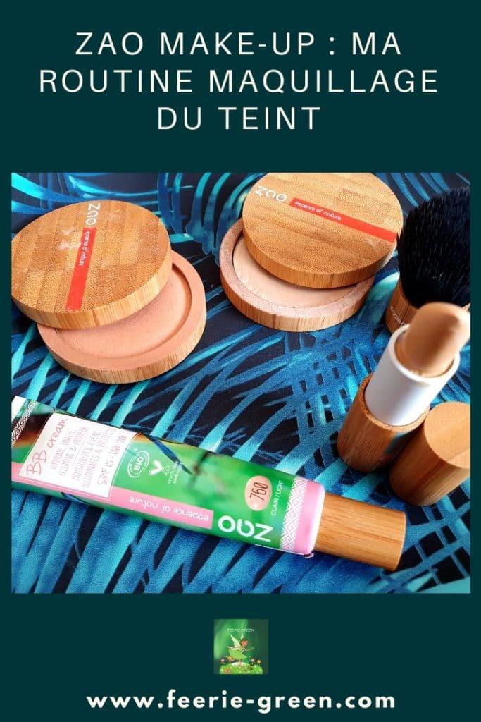 ZAO MAKE UP  maquillage du teint