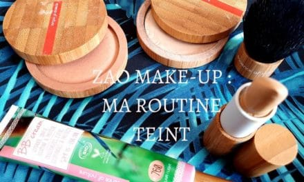 ZAO MAKE-UP : Ma routine maquillage du teint