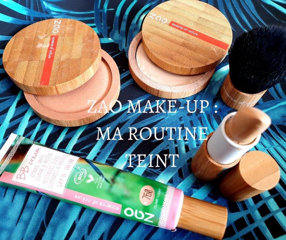 ZAO MAKE-UP  maquillage du TEINT
