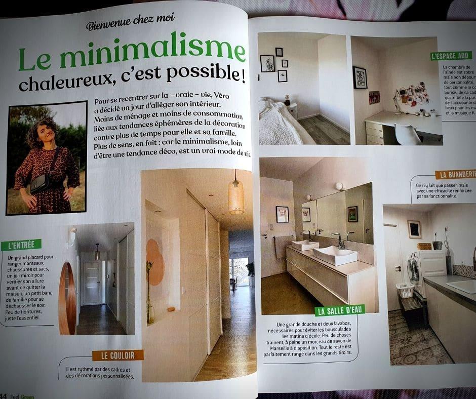 feel green magazine magazine magazine - minimalisme