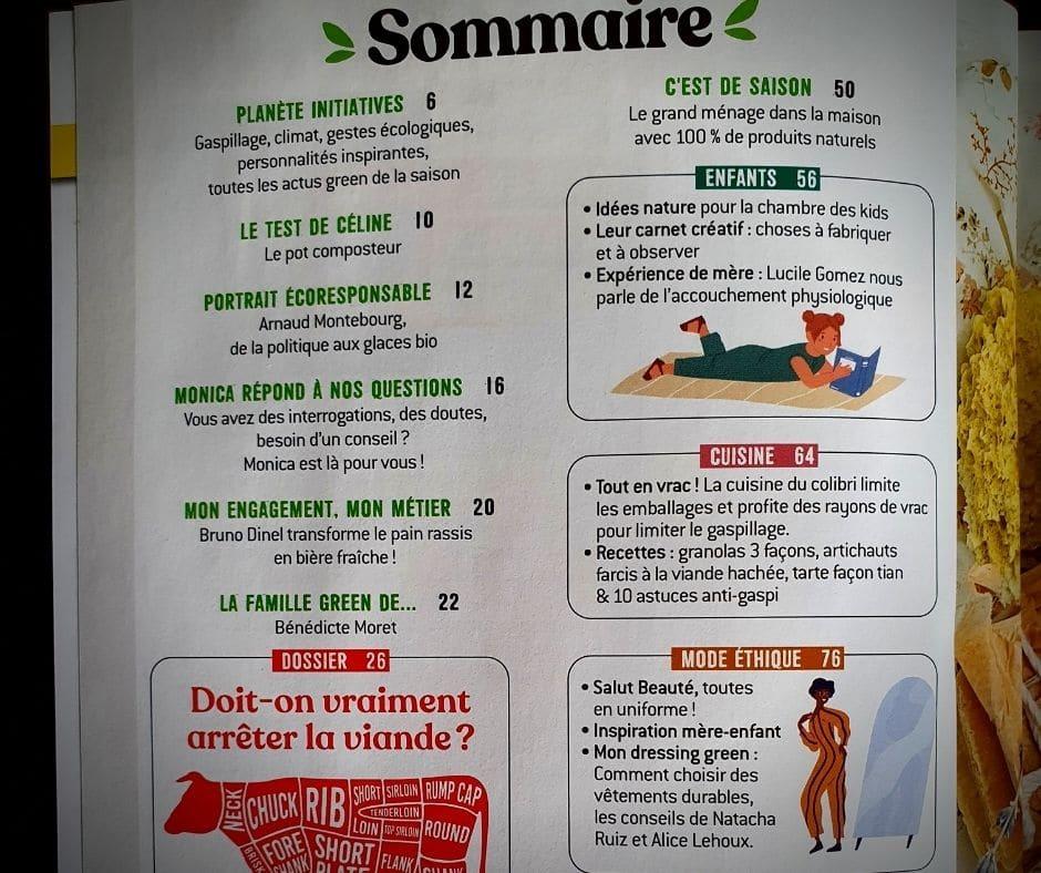 feel green magazine magazine magazine - sommaire
