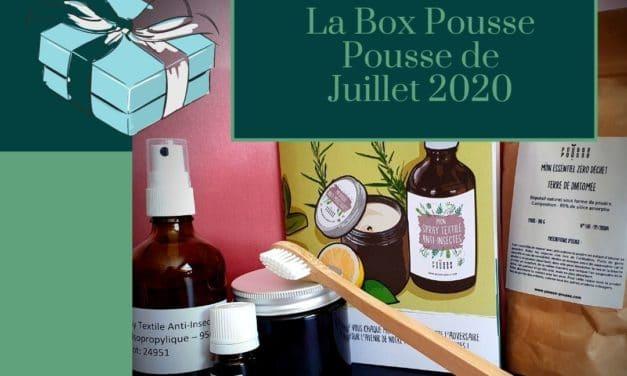 La Box Pousse Pousse de Juillet 2020