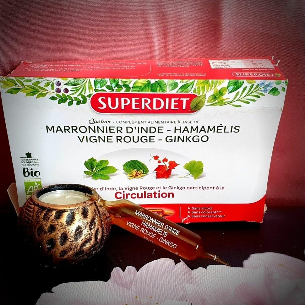super diet - quatuor vigne rouge - circulation bio