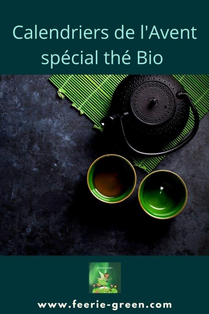 Calendriers de l'Avent spécial thé Bio - pinterest