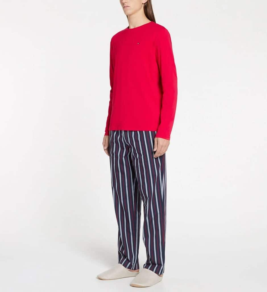 Ensemble Pyjama en coton rayé de Tommy Hilfiger