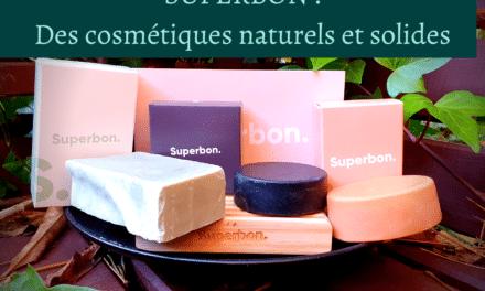 Superbon : Des cosmétiques naturels et solides