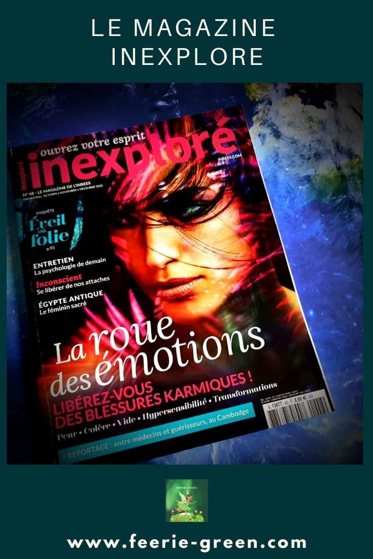 le magazine Inexploré - pinterest