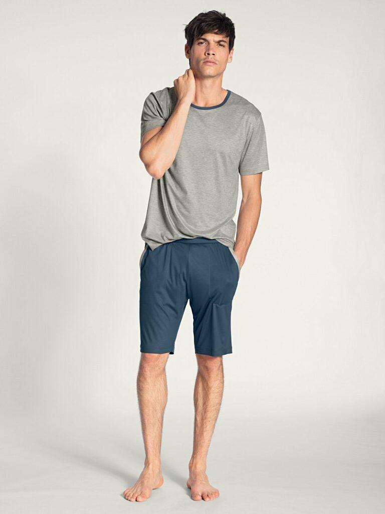 pyjama court homme calida 100% nature