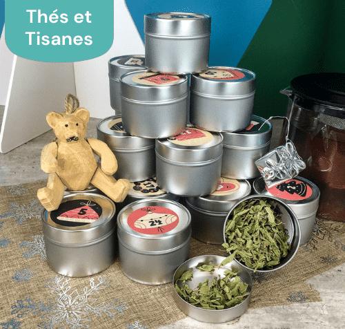 Calendrier de l'Avent thés et tisanes Bio de  Vrac'n Roll