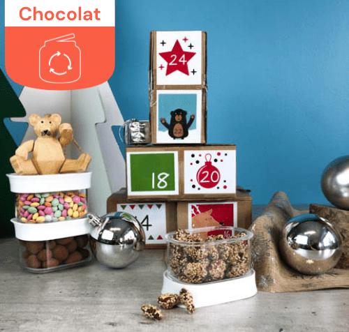 Calendrier de l'avent Choco-Gourmand