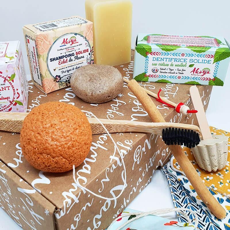La Box cadeau écologique de Noël en version Homme ou Femme de chez Akoya