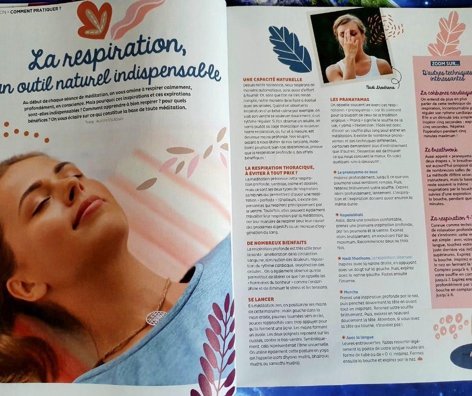 magazine méditation N°6