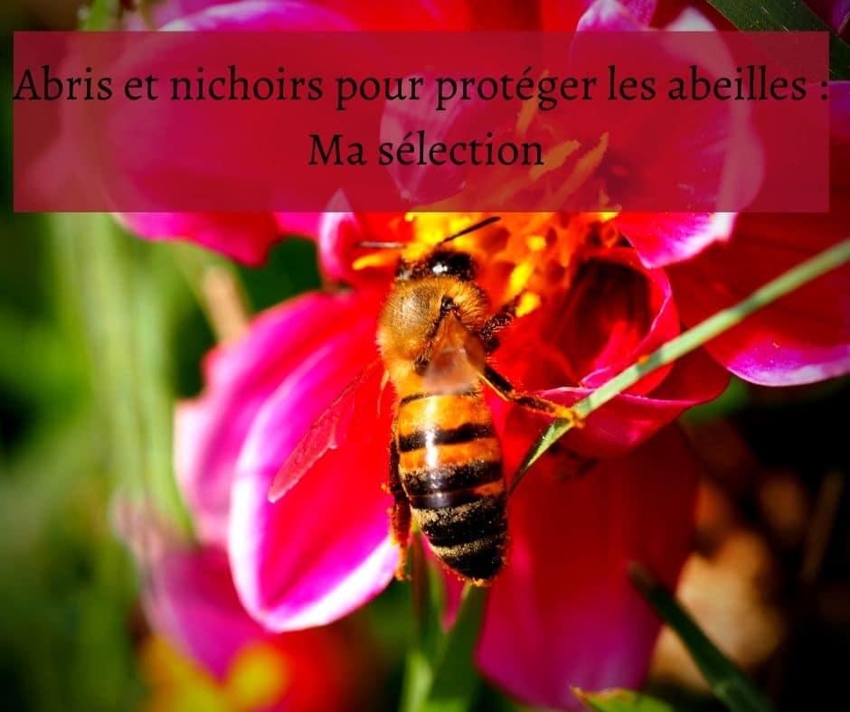 Abris et nichoirs pour protéger les abeilles Ma sélection